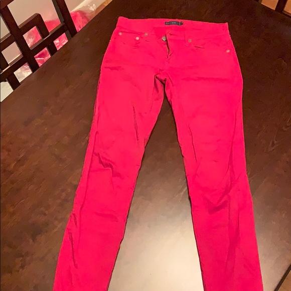 Ralph Lauren Denim - Ralph Lauren Size 26 Red